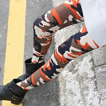 New Sexy Trendy Fashion Army Camouflage Tights Leggings Skinny Commando Pants  Photo