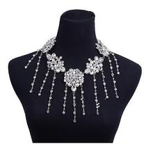 New Shoulder Shining Rhinestones Chain Necklace Photo