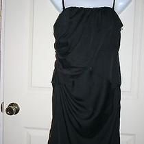 New Simply Vera Vera Wang Black Dress Can Be Worn as Strapless/spaghetti Strap 6 Photo