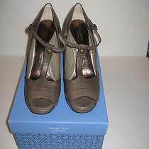 New Simply Vera Vera Wang Platform Heels Sz 7.5 69.99 Photo