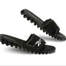 New Size 11 Reebok Zignano Slide Mens Sandle Blk/silver J99555  Photo