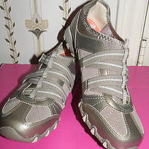 New Skechers Bikers-Rock Steady Taupe Athletic Shoes Women Size 7 Photo