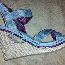 New Sketchers Wedge Heel Shoes 7 Photo