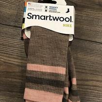 New Smartwool Women's Striped Hike Light Crew Socks Sw001127 Size Medium 7-9.5 Photo