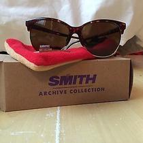 New Smith Rebel Vintage Sunglasses Tortoise and Havana Brown Polarized Photo