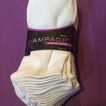 New Socks Rampage 8 Pairs No Shows 9-11 Women's Photo