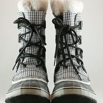 New Sorel Black & White Boots Snow 9m Photo