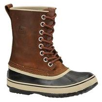 New Sorel Women's Premium Leather Boot -Cappucino/oxford Tan - Size 10 Photo