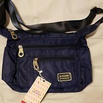 New Soyater Blue Crossbody Bag Handbag Purse Hobo Satchel Tote Nwt Photo
