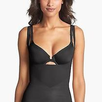 New Spanx 2347 Star Power Lady Luxe Open Under Bust Shaping Tank Top - Black - S Photo