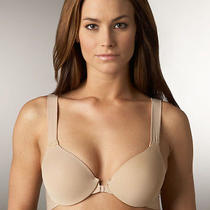 New Spanx Bra-Llelujah Wireless Contour Front Close Style 227 Nude Size 34b Photo