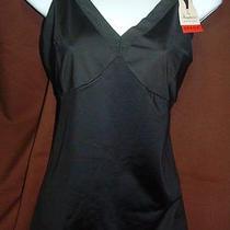 New Spanx Slimplicity Slimming Essentials 311p Blk Lingerie Strap Camisole Sz 3x Photo