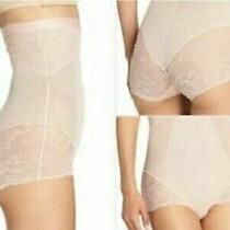 New Spanx Women's Spotlight on Lace High-Waisted Brief 10121r Clean White Size L Photo