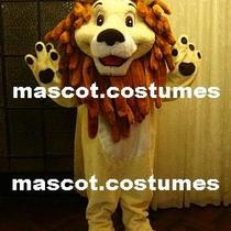 New Special Big Lion Character Mascot Costume Fancy Dress Adult Sz. 5' 9