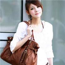 New Special Offer Genuine Leather Restore Ancient Inclined Big Bag Womenhandbags Photo