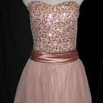 New Speechless Blush Pink Short Prom Dress Cocktail Social Party Dress Sz 13 Photo