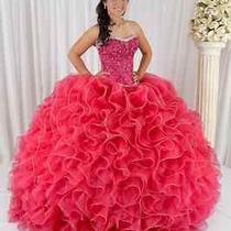 New Splendid Ball Gown Delicate Beading Organza Quinceanera Dresses Custom Made Photo