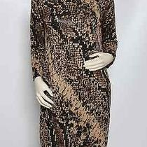 New St. John  Black Mahogany  Dress 6 1395    Photo