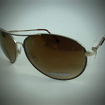 New Steve Madden S5611 Gold Aviator Sunglasses Photo