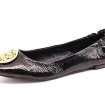 New Steve Madden Women Black Patent Leather Comfort Flat Casual Shoe Sz 8 M  Photo