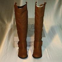 New Steve Madden Women's Bankker Knee-High Coganac Boot Size  Us 6.5 Eur 37.5 Photo