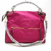 New Steven by Steve Madden 'Easy Going' Fuchsia Nylon Tote Bag Handbag Purse  Photo