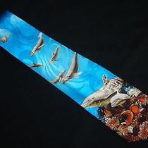 New Steven Harris Dolphins Necktie Tie New Photo