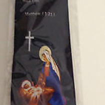 New Steven Harris Religious Nativity Mother Mary & Baby Neck Tie Inspirational Photo