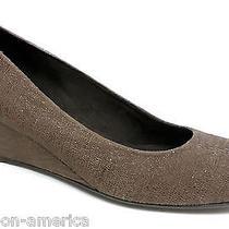 New Stuart Weitzman Brown 'Ambient' Wedges Heels Size 9 Pumps Shoes Photo