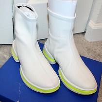 New Stuart Weitzman's the Sw-612 Bootie Sneaker White 7.5 Photo