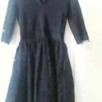 New Stunning  French Connection Black Lace Dress. Original Price 145 Photo