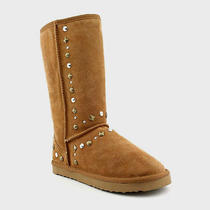 New Style & Co Bolted Women's Winter Boot - Color Chestnut - Size 9m - Nib Photo