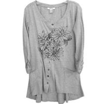 New style&co. Printed High-Low Top M Photo