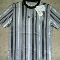 New Summer 2020 Guess 49 Mens Urban Outfitters Stripe Shirt Small S Hotspur Tee Photo