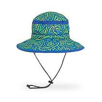 New Sunday Afternoons Kids Fun Bucket Hat Green Fossil  Photo