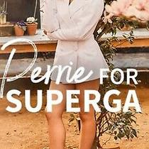 New Supergafantasia Women's White Sneakers. Size 7.5 Photo