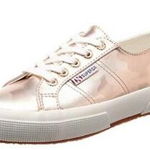 New Superga Womens 2750 Metallic Rose Gold Camo Sneaker Size 7.5 Photo