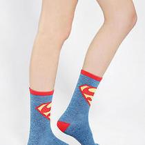 New Superman Urban Outfitters Dc Comics Hero Socks Womens One Size Photo