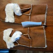 New Surell Faux Shearling Flip Top Mittens Winter Texting Gloves Luxury Cold Lg Photo