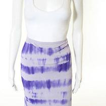 New Sweet Pea Purple Tie Dye Stretch Skirt Sz M 78 Bn407 Photo