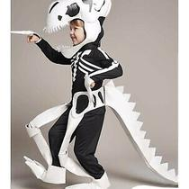 New T-Rex Dinosaur Fossil Skeleton Child Costume by Chasing Fireflies Size 8 Photo