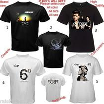 New T-Shirt the Script Irish Alternative Rock Free a Cd Mp3 or Concert Ticket  Photo
