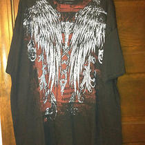 New T Shirt Xxl Inc From Macys Like Affliction Rare Black Photo