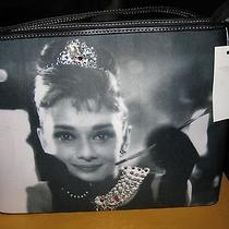 New Tag Women's Audrey Hepburn Breakfast at Tiffany's Black Purse in Exc Cond Photo