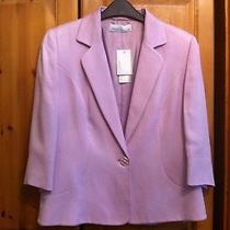 New/tags 90   Minosa Petite  Blush  Lilac Jacket - Size Uk 12 Photo