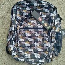 New  Tags Trans by Jansport 36l Supermax Cat Backpack Catty Crowd Laptop Sleeve Photo