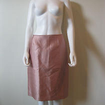 New Tahari  Luxe Skirt  Blush Pink /size 4 100%Polyester  Fully Lined Photo