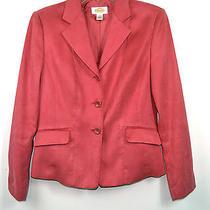New Talbots Elegant Pink 100% Polyester Women's Jacket Size 2 Korea Photo
