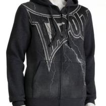 New Tapout Hoodie Charcoal Heather Size L  Free Shipping Photo