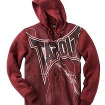 New Tapout Hoodie Red Heather Size L Free Shipping Photo